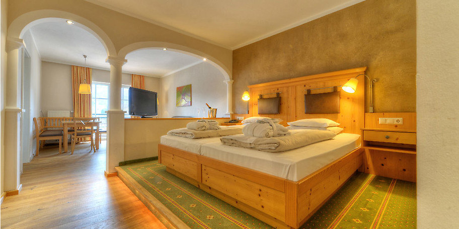 Komfortable Zimmer und bester Service sind Standard im KinderHotel POST in Österreich