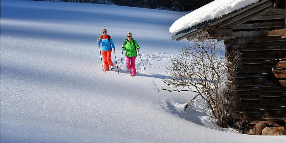 Herrliche Schneelandschaften in Unken