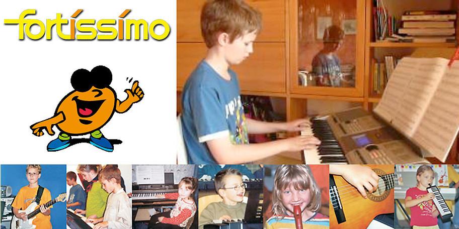 Musikunterricht bei Ihnen daheim!