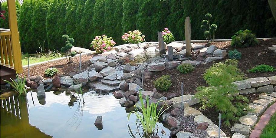 Wir machen Altgartenrenovierung, über Teichanlagen bis zu kompletten Neugestaltungen