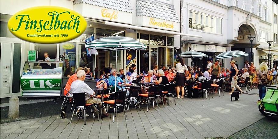 Legen Sie eine gemütliche Pause im Café Finselbach in Bad Oeynhausen ein