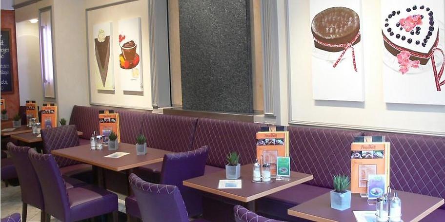 Gemütliche Atmosphäre im Café Finselbach