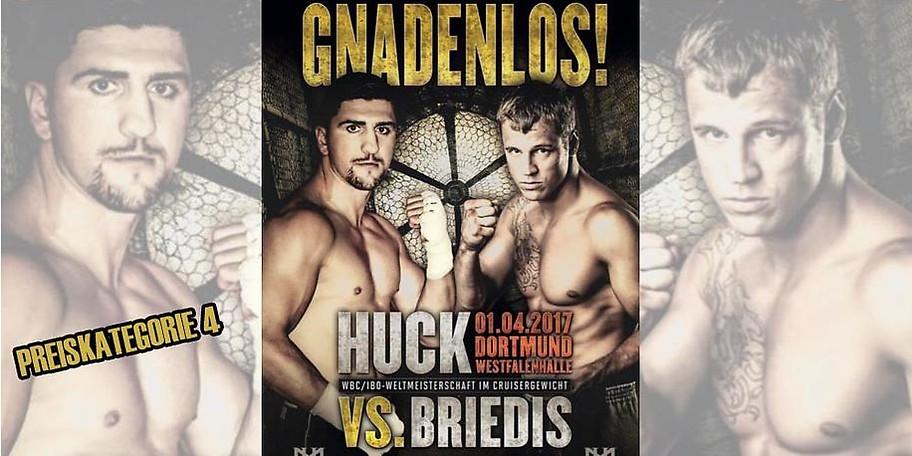 Ihre Tickets für den Boxkampf Huck vs. Briedis