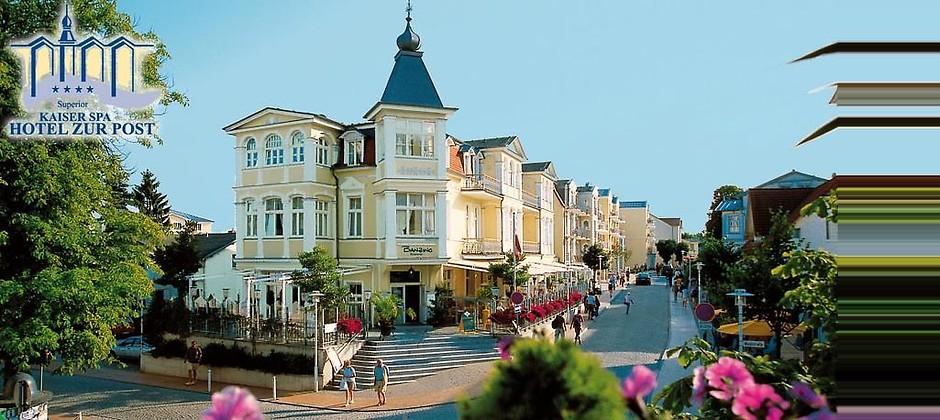 Gutschein für Eine Woche Urlaub auf Usedom für 2 zum halben Preis! von KAISER SPA HOTEL ZUR POST ****