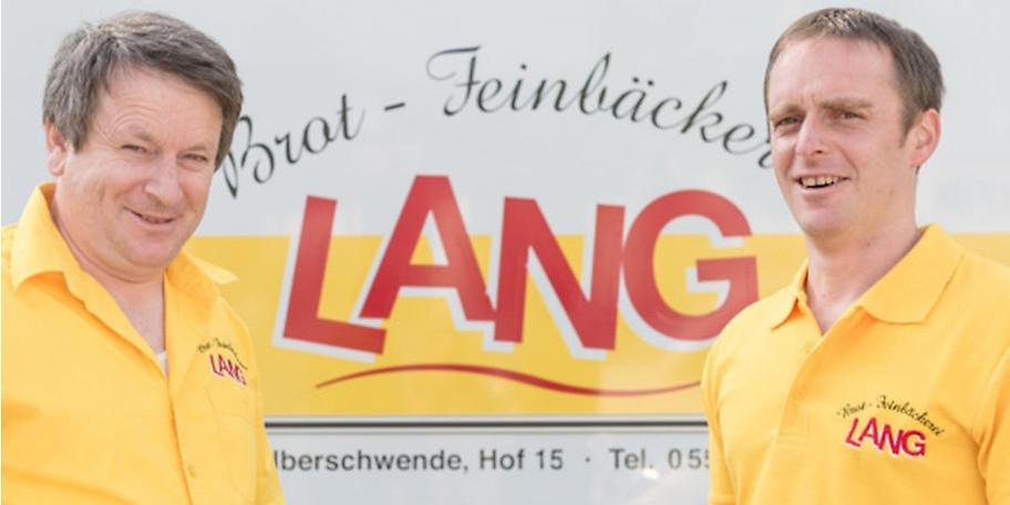 Kaspar Lang mit Sohn Rene