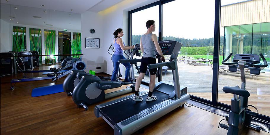 Auch der Fitnessbereicht lässt keine Wünsche offen