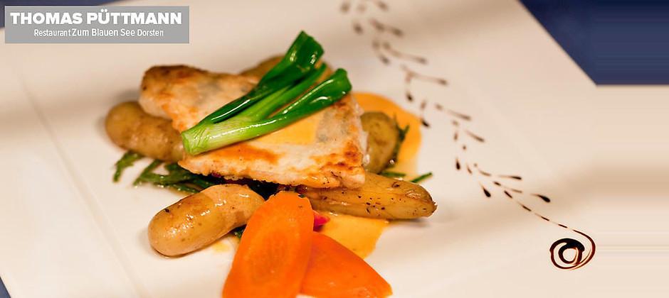 """Gutschein für Wenn Lebensmittel auf Inspiration treffen wird die Mahlzeit zum Erlebnis! von Restaurant """"Zum Blauen See"""""""