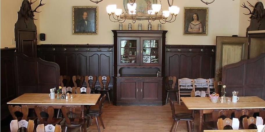 Zum Augstiner Schützengarten in Sendling gehört auch das herrliche Herrenhaus, das ideal für Veranstaltungen ist