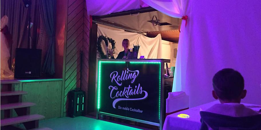 Ob Hochzeit oder Firmenfeier, wir sind mit den passenden Cocktails zur Stelle