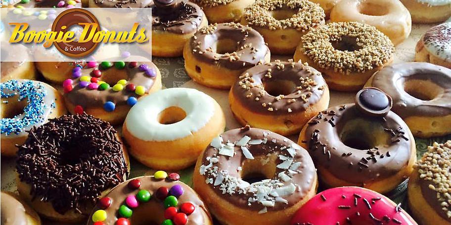 Genießen Sie die köstlichen Donuts von Boogie Donuts in München