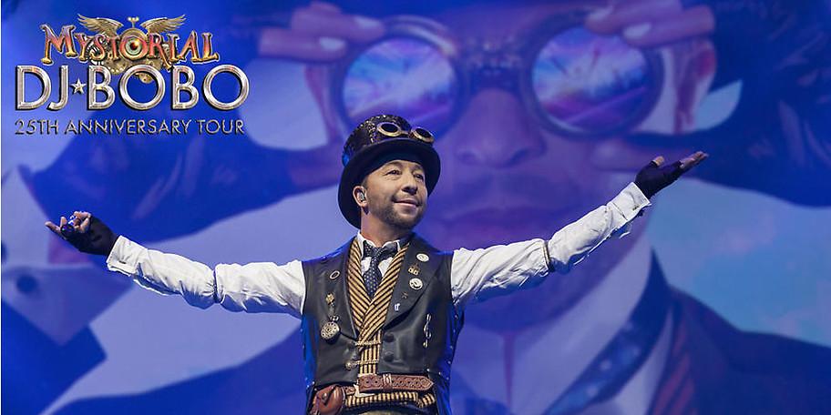Erleben Sie die DJ BoBo Mystorial Tour 2017 in München