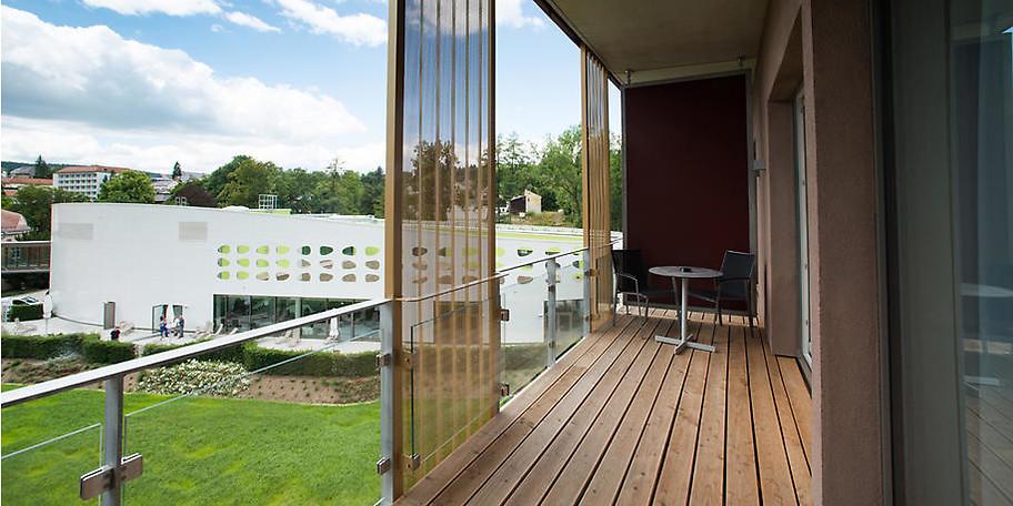 Entspannen Sie beim Ausblick von Ihrem Balkon