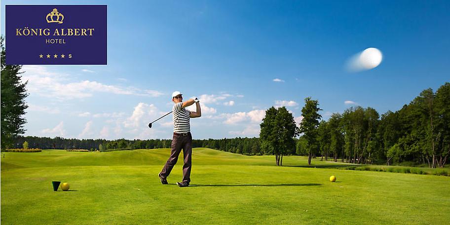 Ihr Golfpackage im Hotel König Albert zum halben Preis