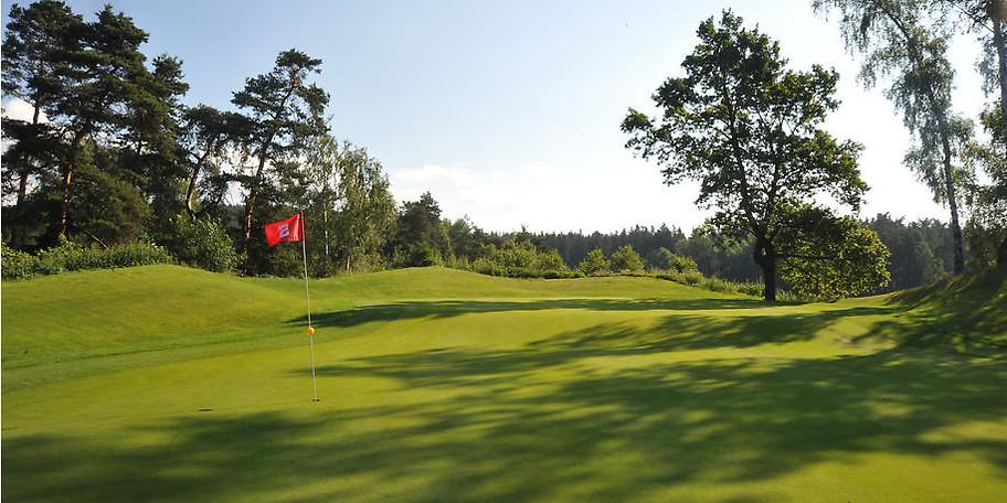 18-Loch-Meisterschaftsplatz Golf Resort Franzensbad in Hazlov