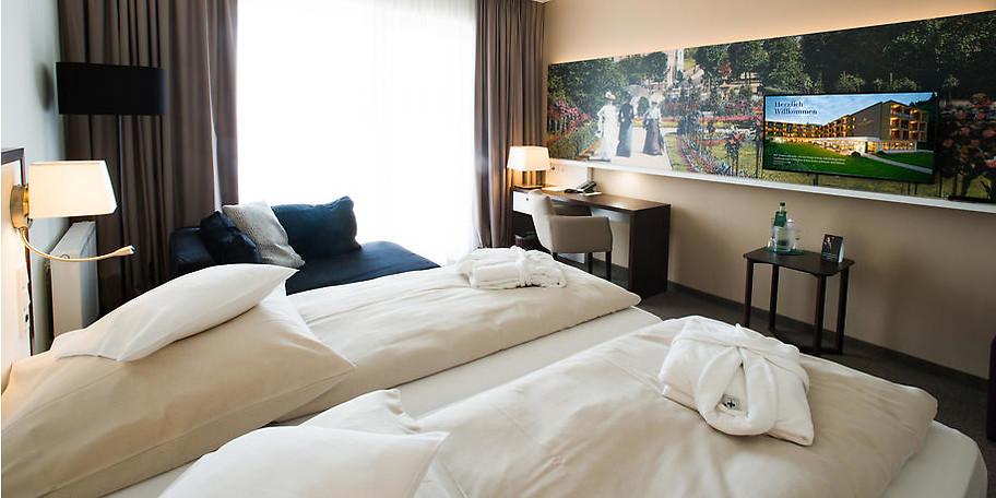 Wohnbeispiel Ihres Deluxe-Zimmers im Hotel König Albert