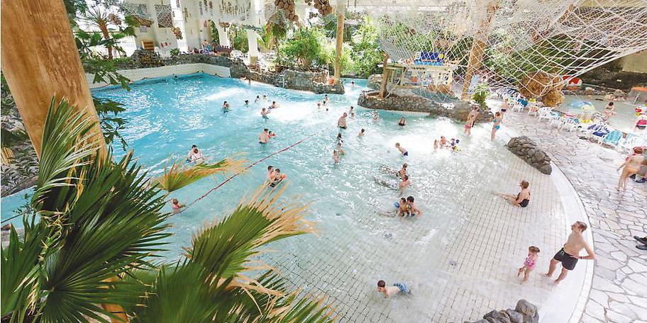 toben, rutschen, schwimmen im Aqua Mundo in Medebach