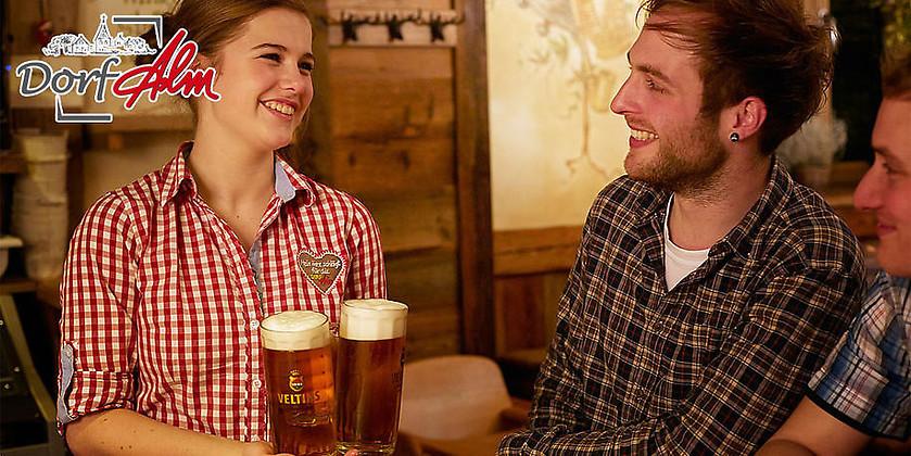 Gutschein für Feiern im Alpenflair von Dorf Alm Willingen