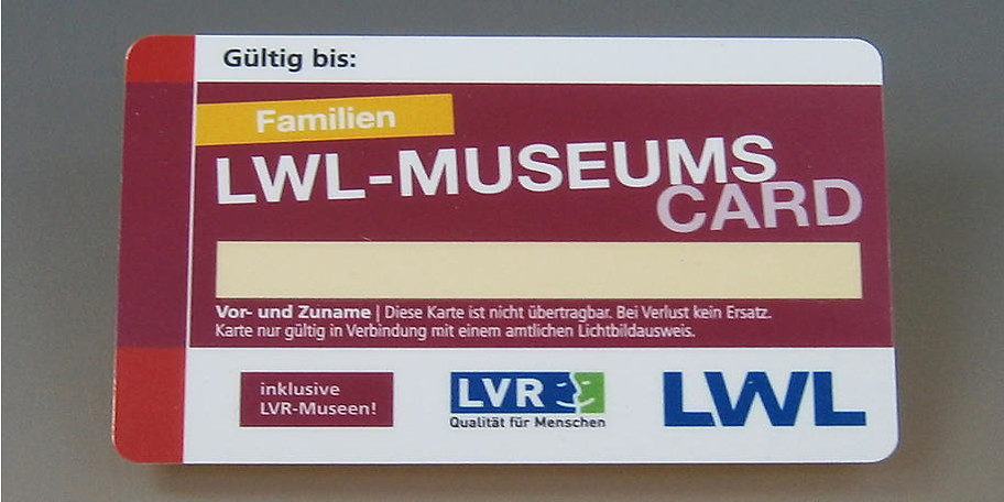 Mit der LWL-Kulturcard lässt sich Vieles erleben
