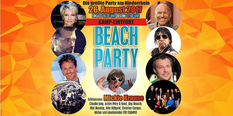 BEACH PARTY Kamp-Lintfort