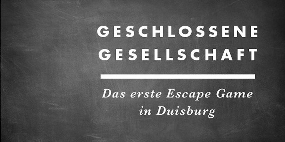 Live Escape Game in Duisburg