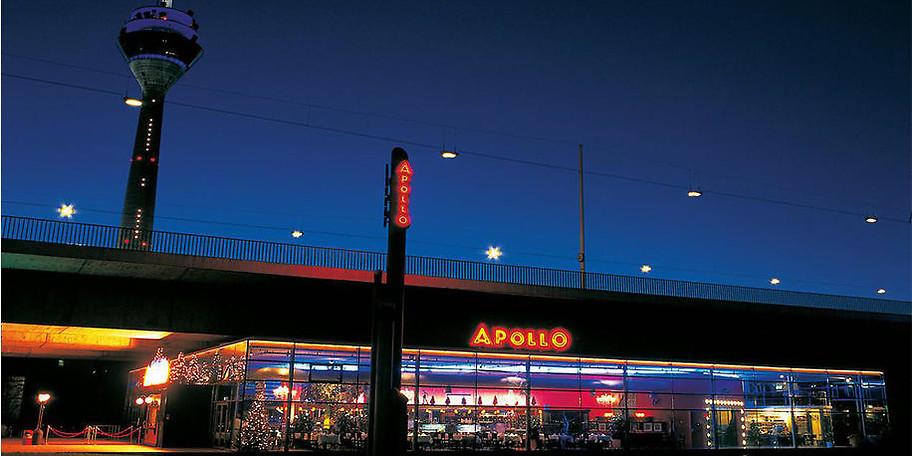 Außenansicht des Apollo Varieté in Düsseldorf