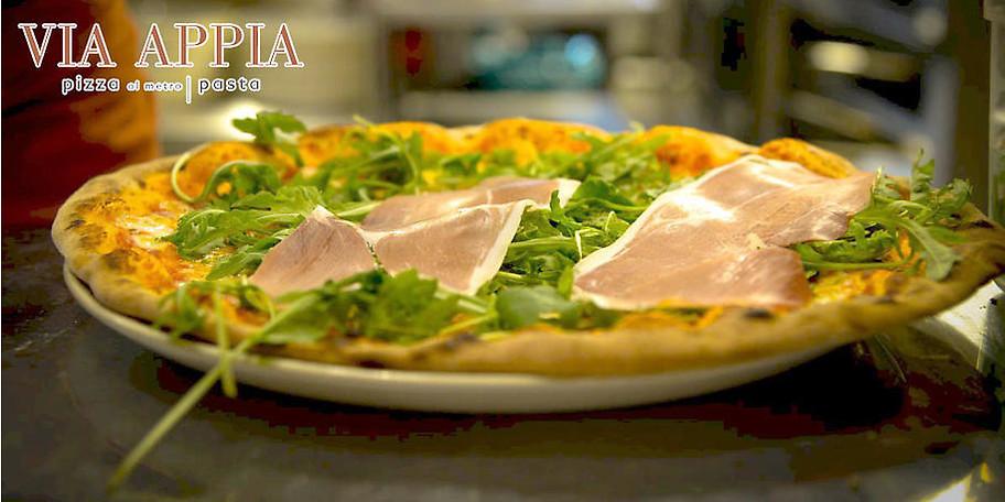 Köstliche Pizzen in der Via Appia in München