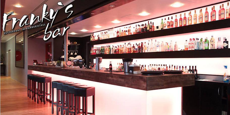 Herzlich Willkommen in Franky's Bar im Ruhrkristall in Mülheim