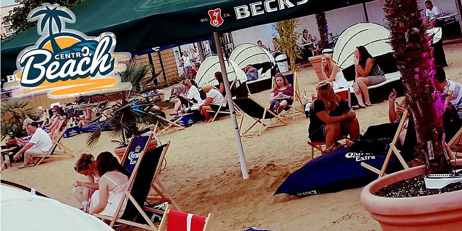 Willkommen am CentrO Beach