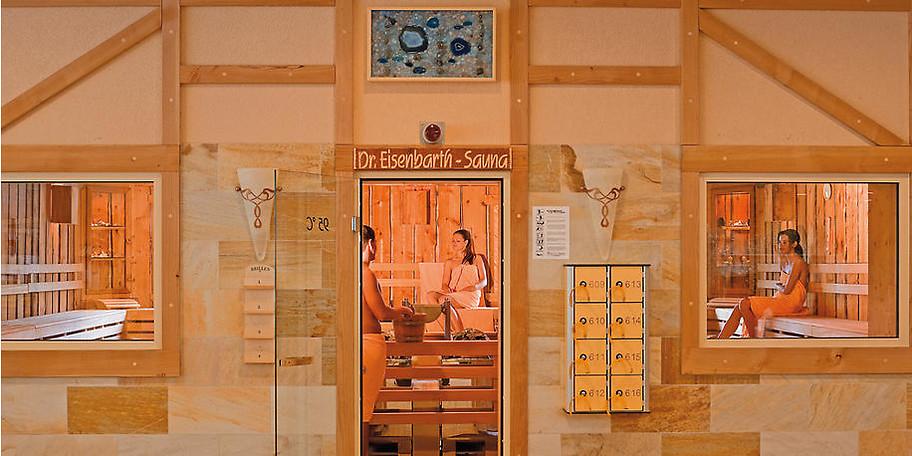 Dr. Eisenbart-Sauna in der Kristall Saunatherme