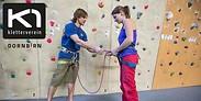Gutschein für Mut zu Herausforderungen! Schnupperklettern zu Zweit - Einblicke in die Grundlagen zum halben Preis! von K1 Kletterverein