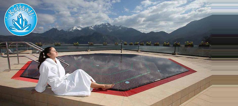 Gutschein für Einzigartiger Alpen-Badespaß von Kristall trimini Kochel am See GmbH