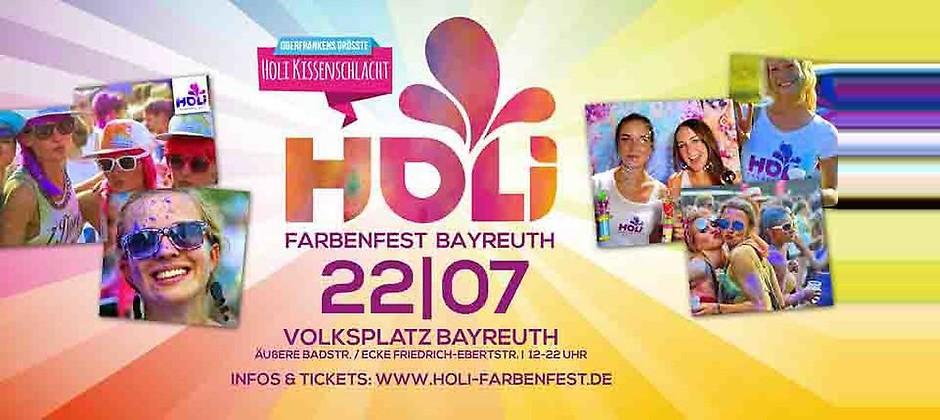 Gutschein für Ihr Gutschein für zwei Eintrittskarten inklusive zwei Color Packs zum halben Preis! von HOLI FARBENFEST