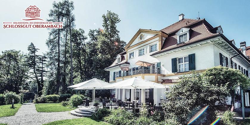 Gutschein für 3 Übernachtungen für 2 Personen in der Schlosspark-Suite zum halben Preis! von Schlossgut Oberambach