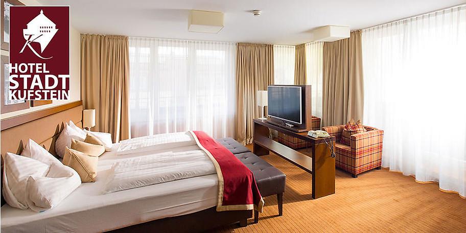 Das Hotel Stadt Kufstein: zentral in der Fußgängerzone gelegen, modern ausgestattet und komfortabel