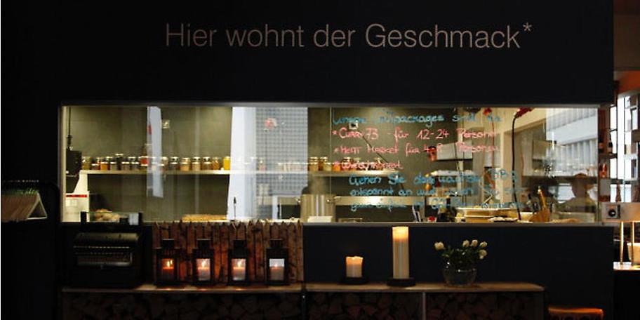 Das *KUTCHiiN ist Holger Strombergs Tagesrestaurant in München