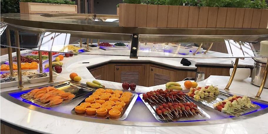 Internationale Küche vom Buffet im Memorie-z Dortmund