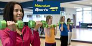Gutschein für 10er Tageskarte: Training ohne Mitgliedschaft von Millennium Sports