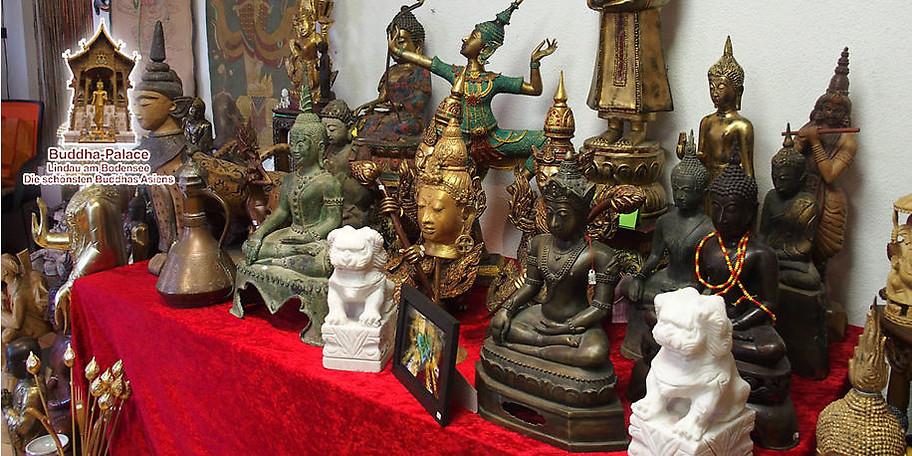 Herzlich Willkommen im Buddha-Palace in Lindau