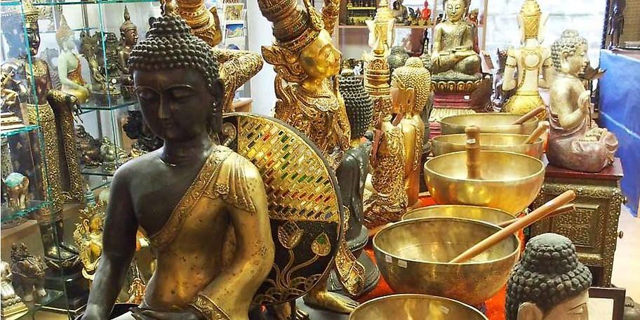 Erleben Sie die umfangreichste Verkaufsausstellung an Buddhafiguren im gesamten deutschsprachigen Raum