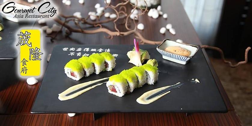 Gutschein für Asia-Restaurant mit Buffet und Live-Cooking von Gourmet City
