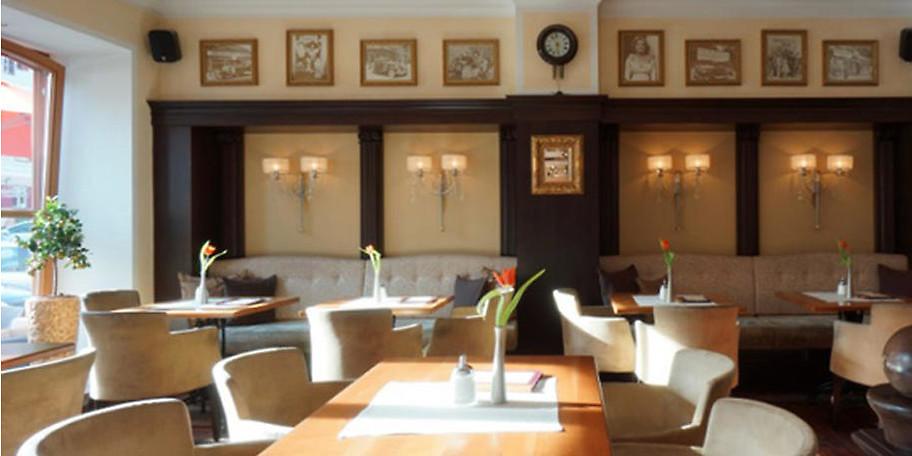 Verweilen Sie in Meiser's Café & Restaurant in Dinkelsbühl