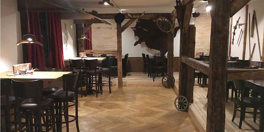 Rustikaler Wildwestcharme im Bonanza Steakhouse