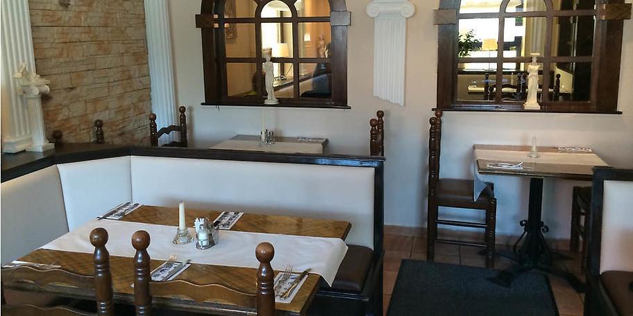Ob Gyros, Suvlaki oder typische griechische Platten, im Restaurant Delphi ist für Jeden etwas dabei
