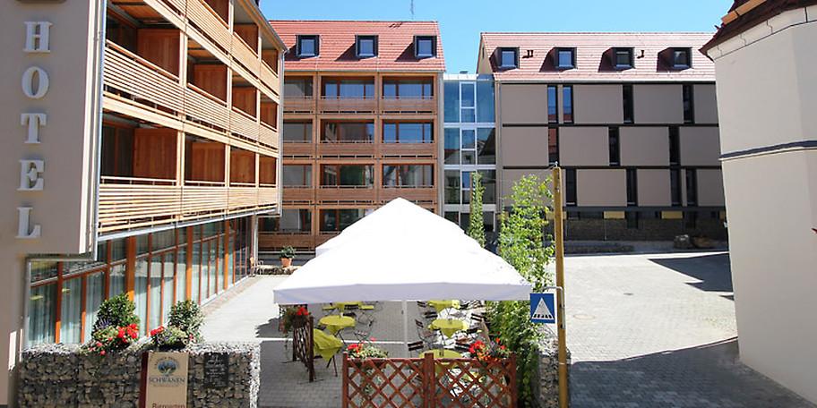 Das 2011 erbaute Hotel in der Bierkulturstadt überzeugt durch einzigartige Architektur und Historie