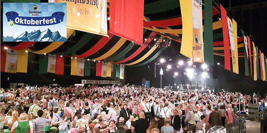 O'Zapft is beim großen Benediktiner Oktoberfest in Oberhausen