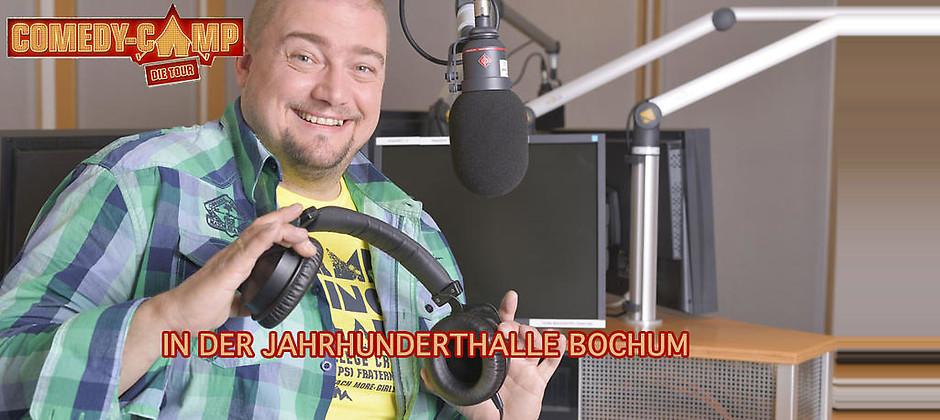 Gutschein für Zwei Tickets zum Preis von einem! Am 08.10.2017 in der Jahrhunderthalle Bochum von Radio Bochum Comedy-Camp-Spezial