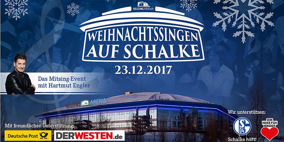 Herzlich Willkommen beim Weihnachtssingen auf Schalke 2017