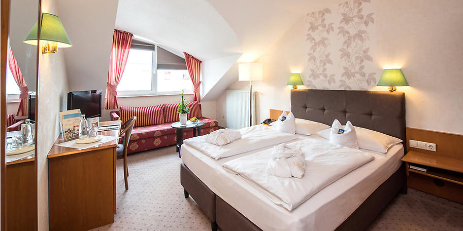 Wohnbeispiel Ihres gemütlichen Zimmers im Sophien Hotel in Eisenach