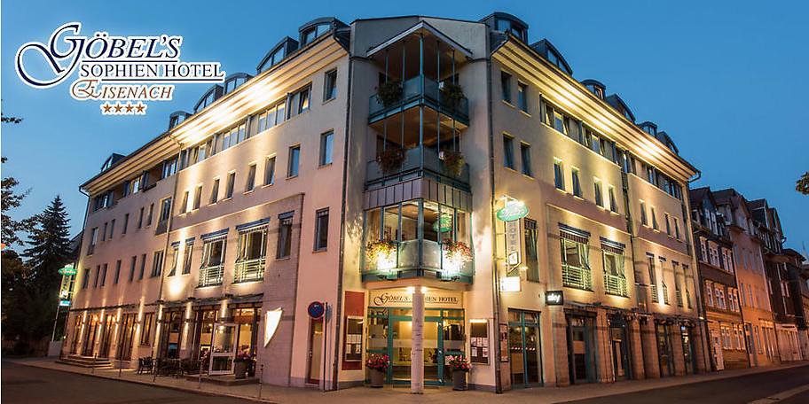 Das Göbel's Sophien Hotel ist ein idealer Ausgangspunkt zur Besichtigung der historischen Sehenswürdigkeiten von Eisenach oder für Ausflüge in die wunderschöne Umgebung