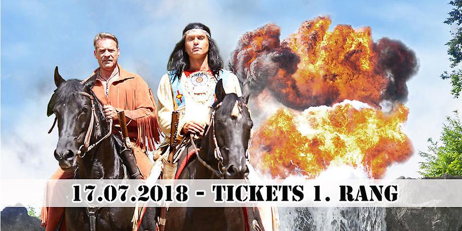 Freuen Sie sich auf die Karl May Festspiele am 17.07.2018 in Elspe!